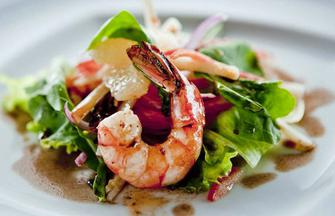 Jerk Shrimp and Citrus Salad