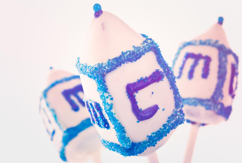 Dreidel Cookies From Edible Hanukkah Crafts For Kids The Daily Meal