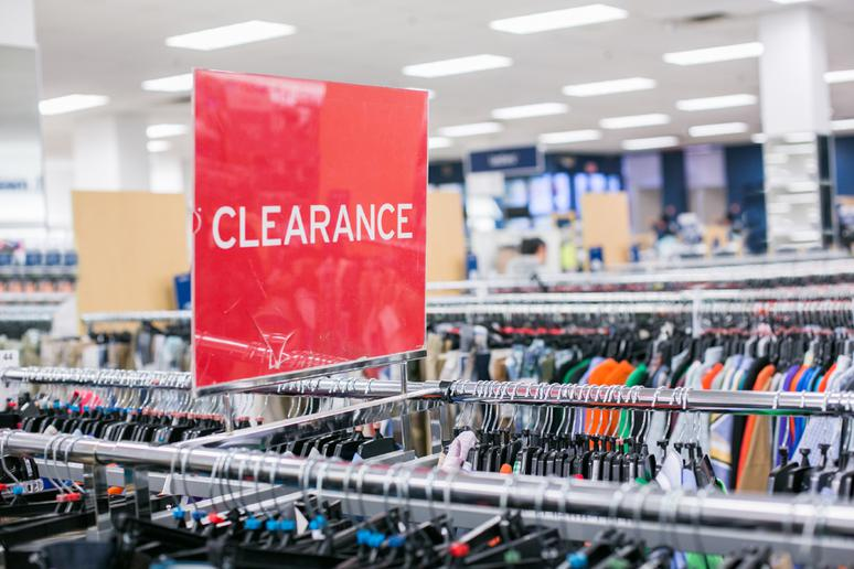 Clearance Items Are in the Back for a Reason