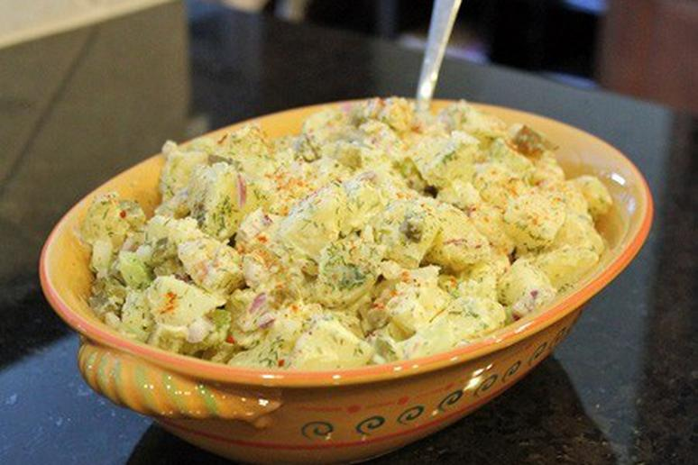 Heart Healthy Potato Salad recipe