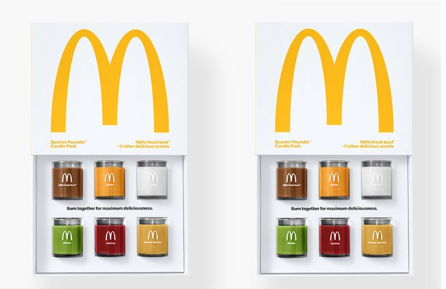 Image result for mcdonald's candles