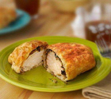 Chicken Wellington