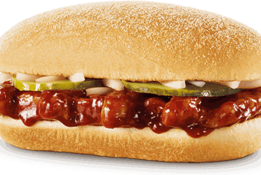 the mcrib is back and now there s an app to track it down