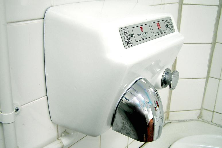 The Hot-Air Hand Dryer Isn't the Cleanest Option