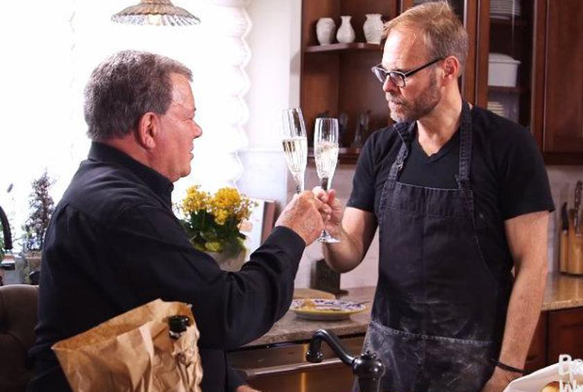Alton Brown, William Shatner on Bogart, Biscuits, and Wine