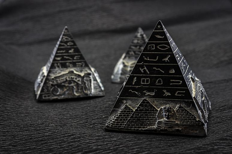 Mini pyramids from Egypt