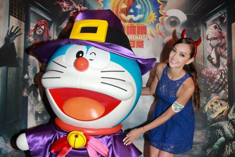 There's a Halloween- and Doraemon Cartoon-Themed Restaurant in Hong Kong