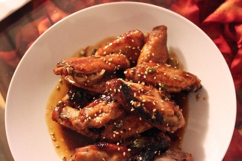 Chicken Wings with Honey-Teriyaki Glaze