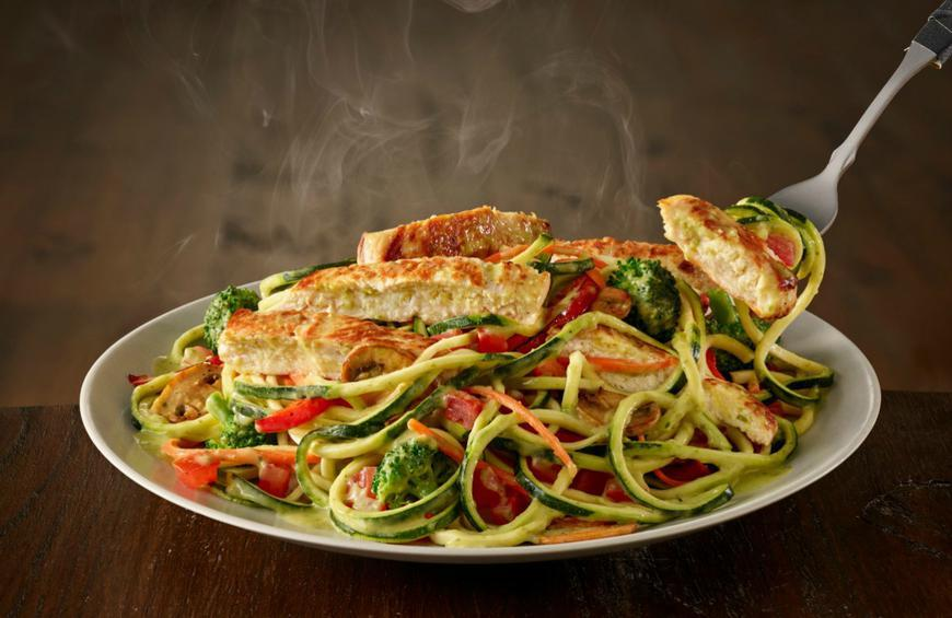 Olive Garden Is Serving Zoodles Primavera With Zucchini Noodles