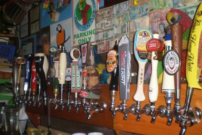 Best Bar: The Parrot's Cay, Grand Forks