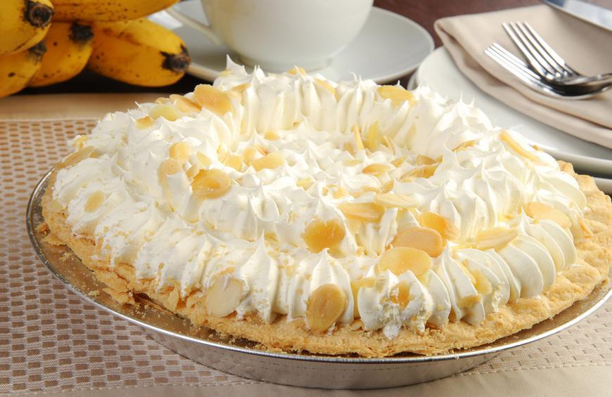 Double Cream Pie Recipe