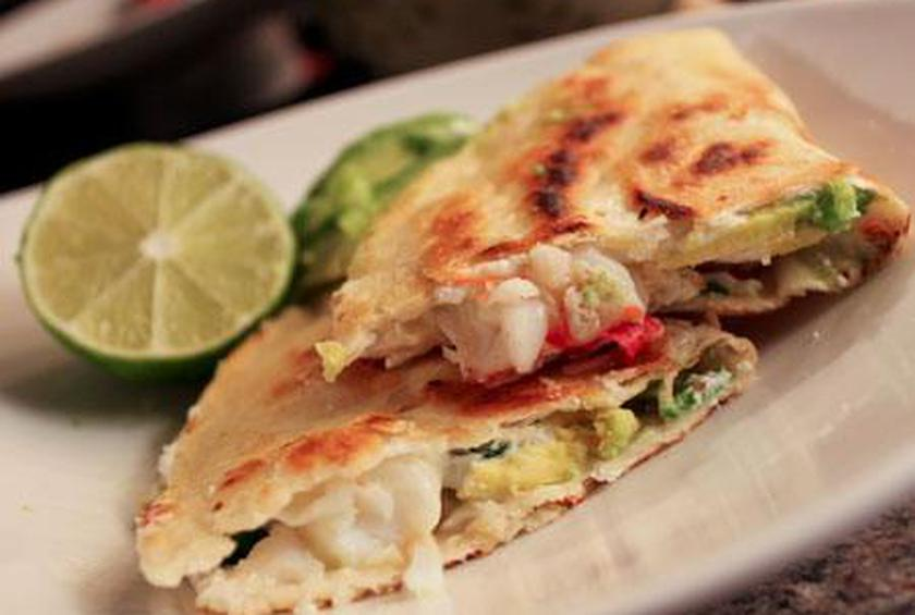 Lobster and Avocado Quesadillas