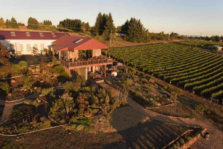 Brooks Winery, Amity, Ore.