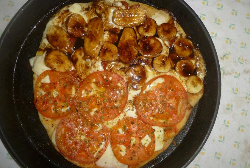 Banana Curry Pizza Sweden