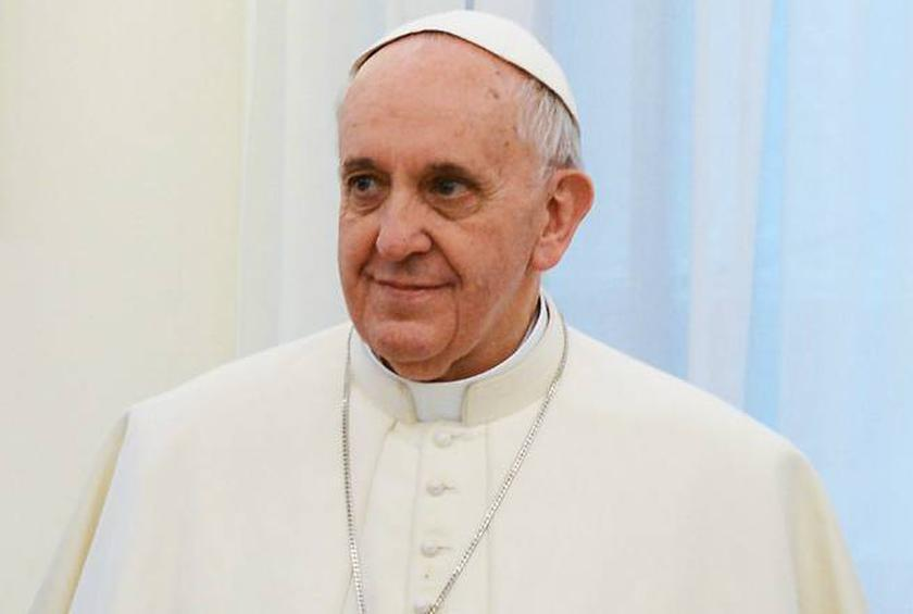 The Pope gives us yet another reason to smile.