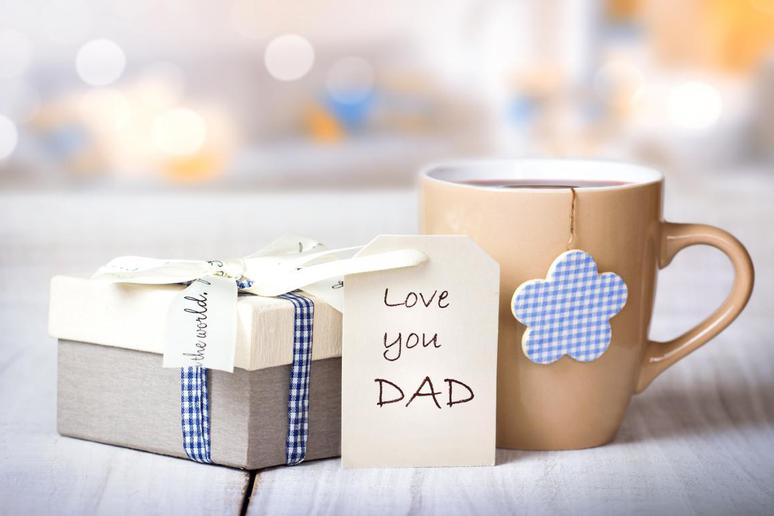 The First Father's Day Card