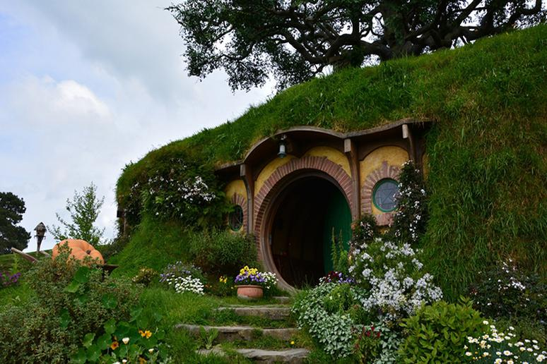 Hobbit Village in New Zealand