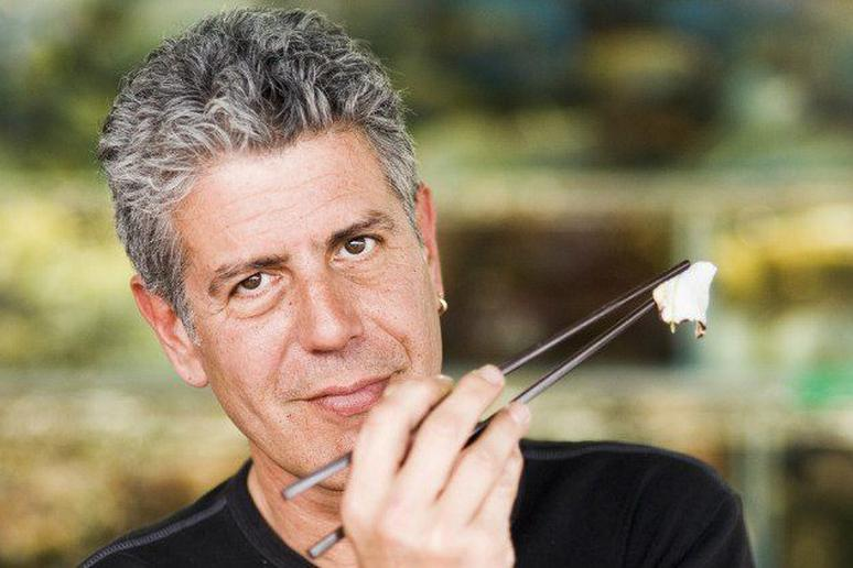 Bourdain may have eaten fermented shark and various animal genitalia, but he'll never feast on man's best friend.
