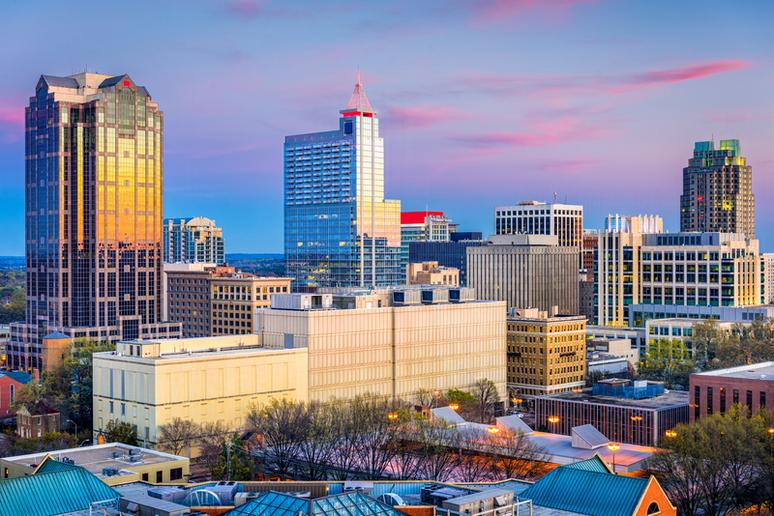 27. Raleigh, North Carolina
