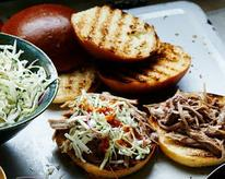 Kalua Pulled Pork Sandwiches