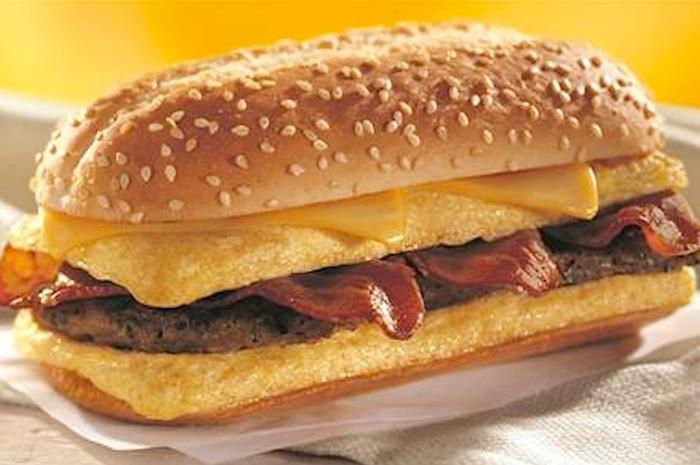Burger King Omelette Sandwich
