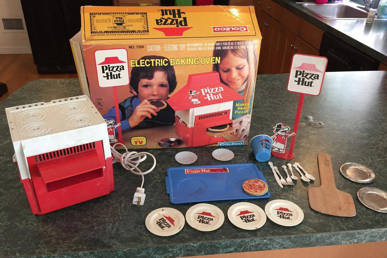 Ever Wanted a Pizza Hut Easy-Bake Oven?