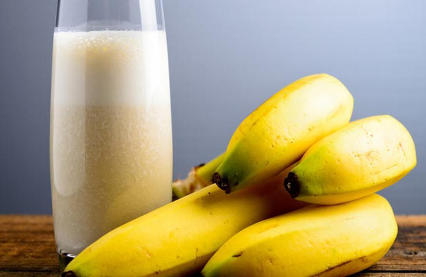 Image result for Milk And Banana For Clean Skin