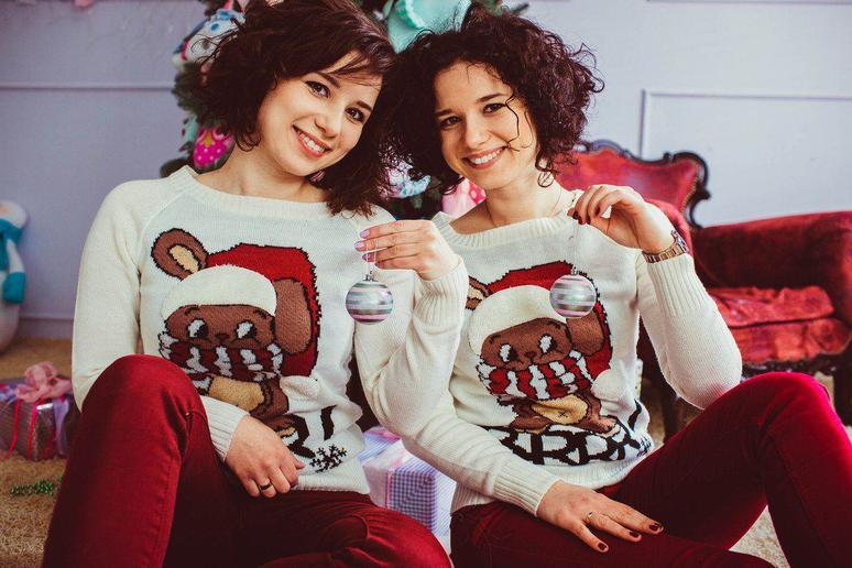 Wear Ugly Sweaters Together
