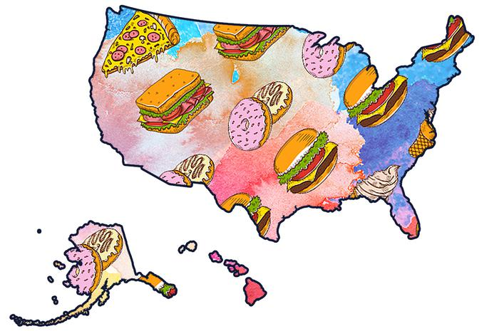 The Best Food and Drink in Every State