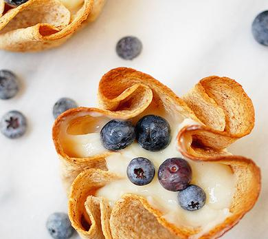 Tortilla Fruit Tarts