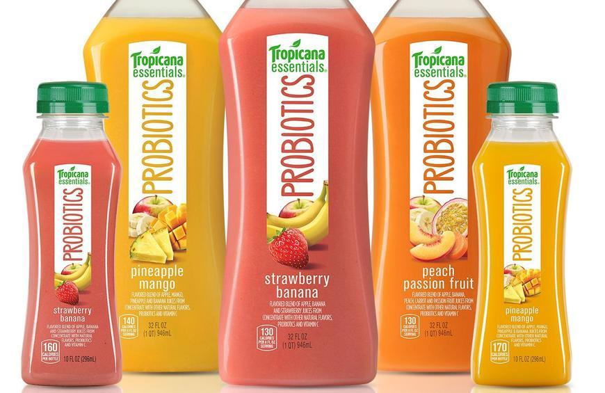 Image result for Tropicana Probiotic Juices