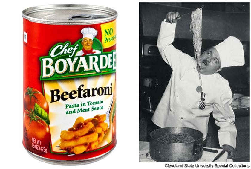 Image result for chef boyardee