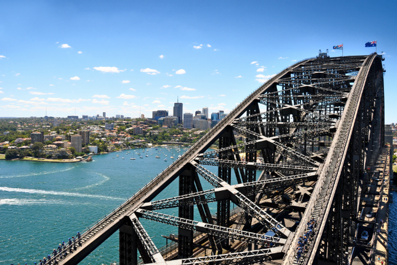 Walking The Sydney Harbour Bridge