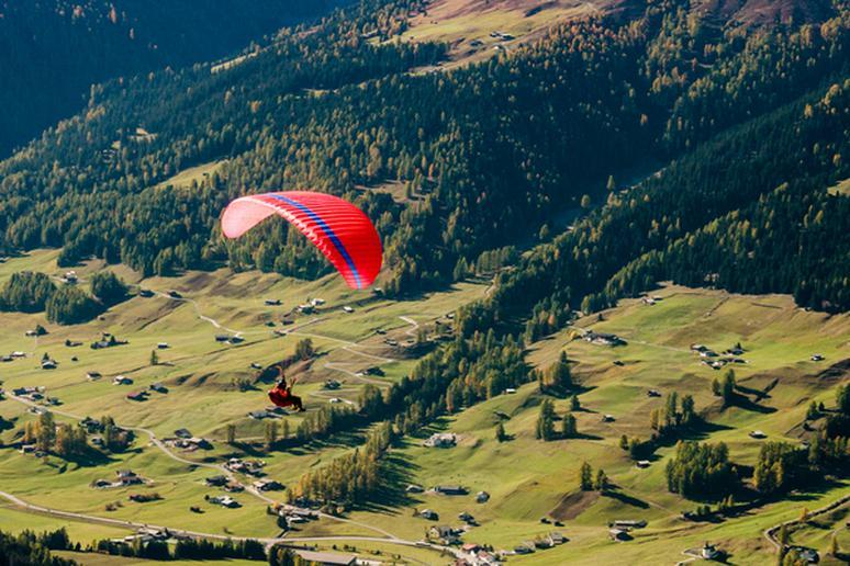 For the Bucket List: Parasailing In Switzerland