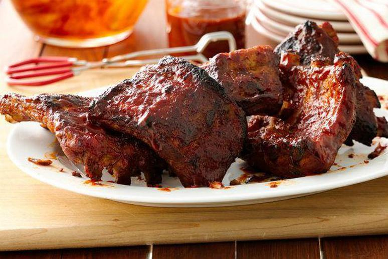 Slow Cooker Barbeque Ribs