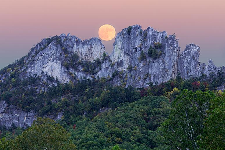 West Virginia – Seneca Rocks