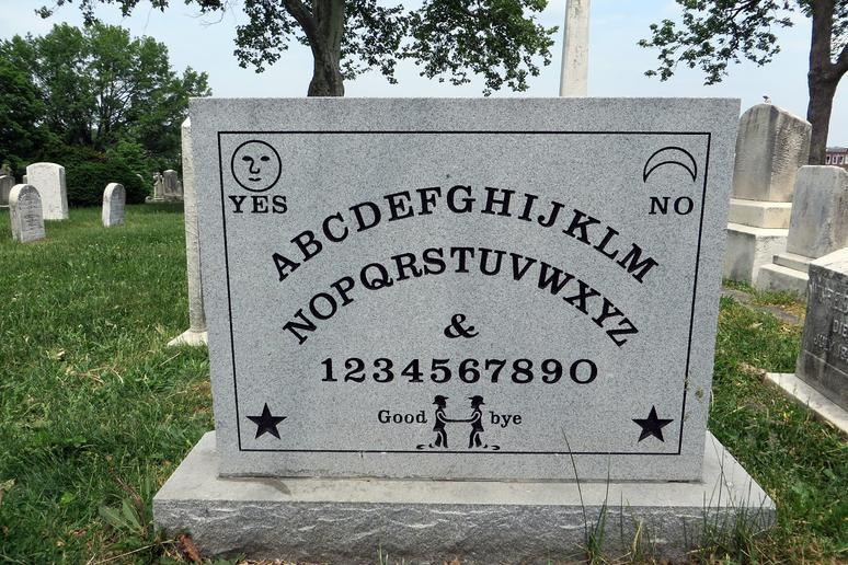 Ouija Board Inventor's Tombstone (Baltimore, Maryland)