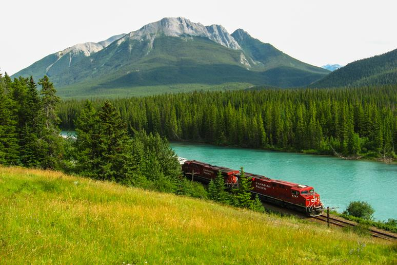 29. Travel the Canadian Rockies by Train