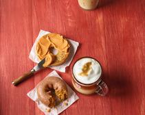 dunkin' donuts fall products