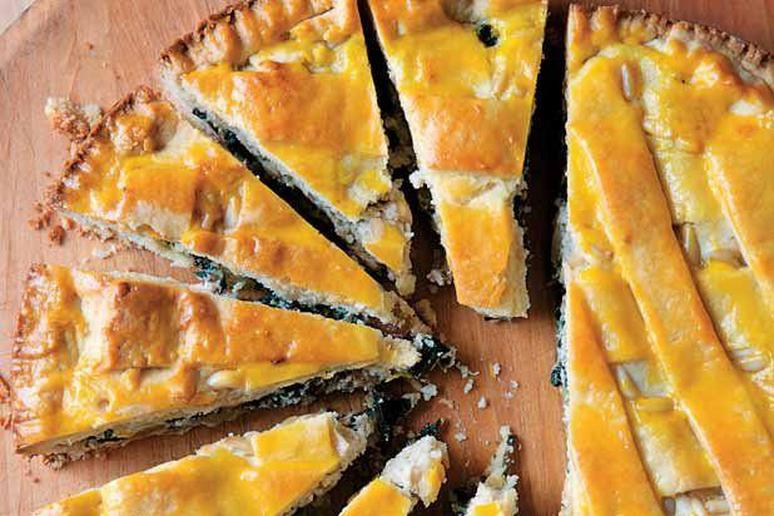 Chard and Ricotta Tart