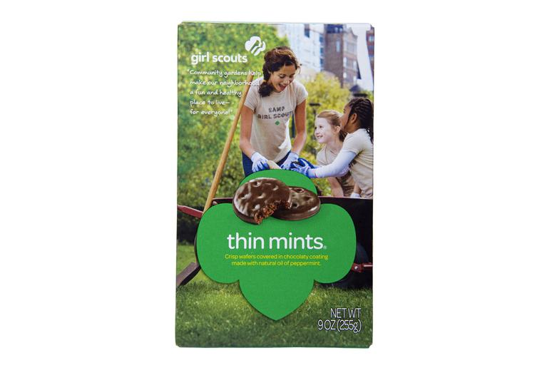 Thin Mints Are the Top Seller