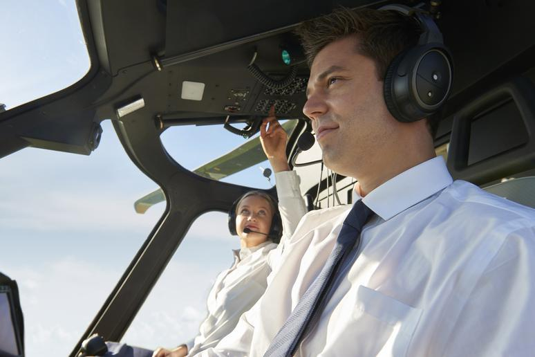 This could be your pilot's very first flight