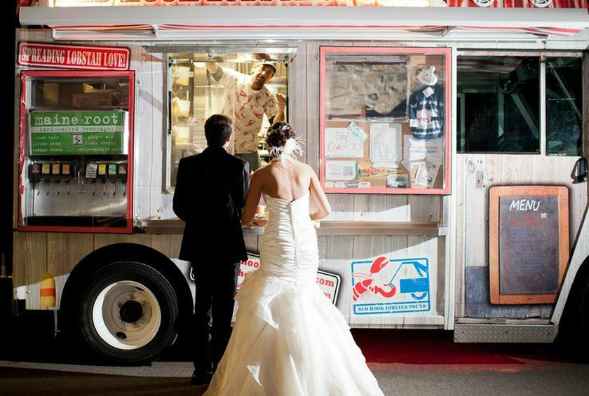 Image result for food trucks on weddings