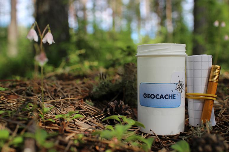 Go geocaching…anywhere