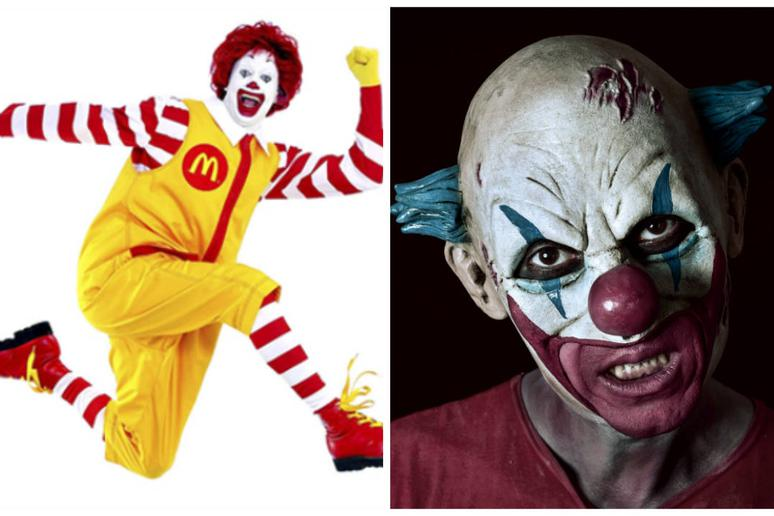 This is no time to be clowning around, Ronald.