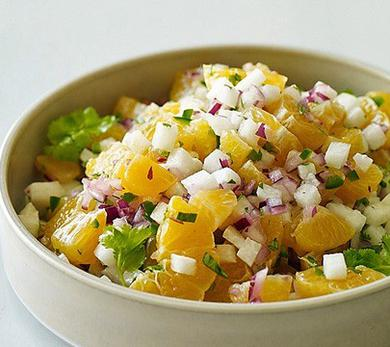 Mexican Clementine and Jicama Salsa