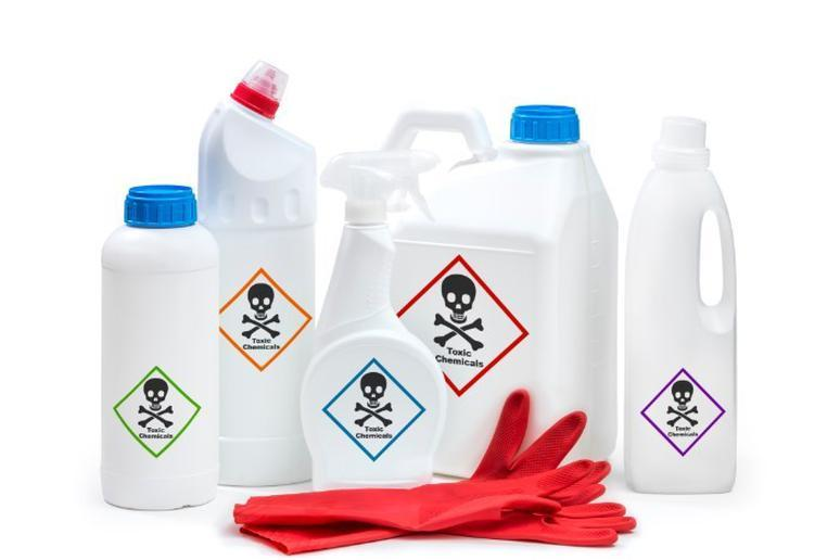 Avoid toxic chemicals in your home