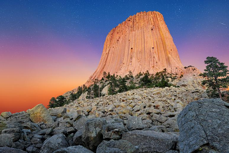 Devil's Tower, U.S. National Monument, Wyoming