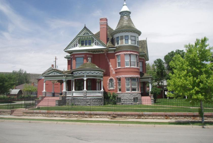 Wyoming: Ferris Mansion (Rawlins)