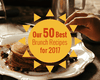 50 Best Brunch Recipes 2017